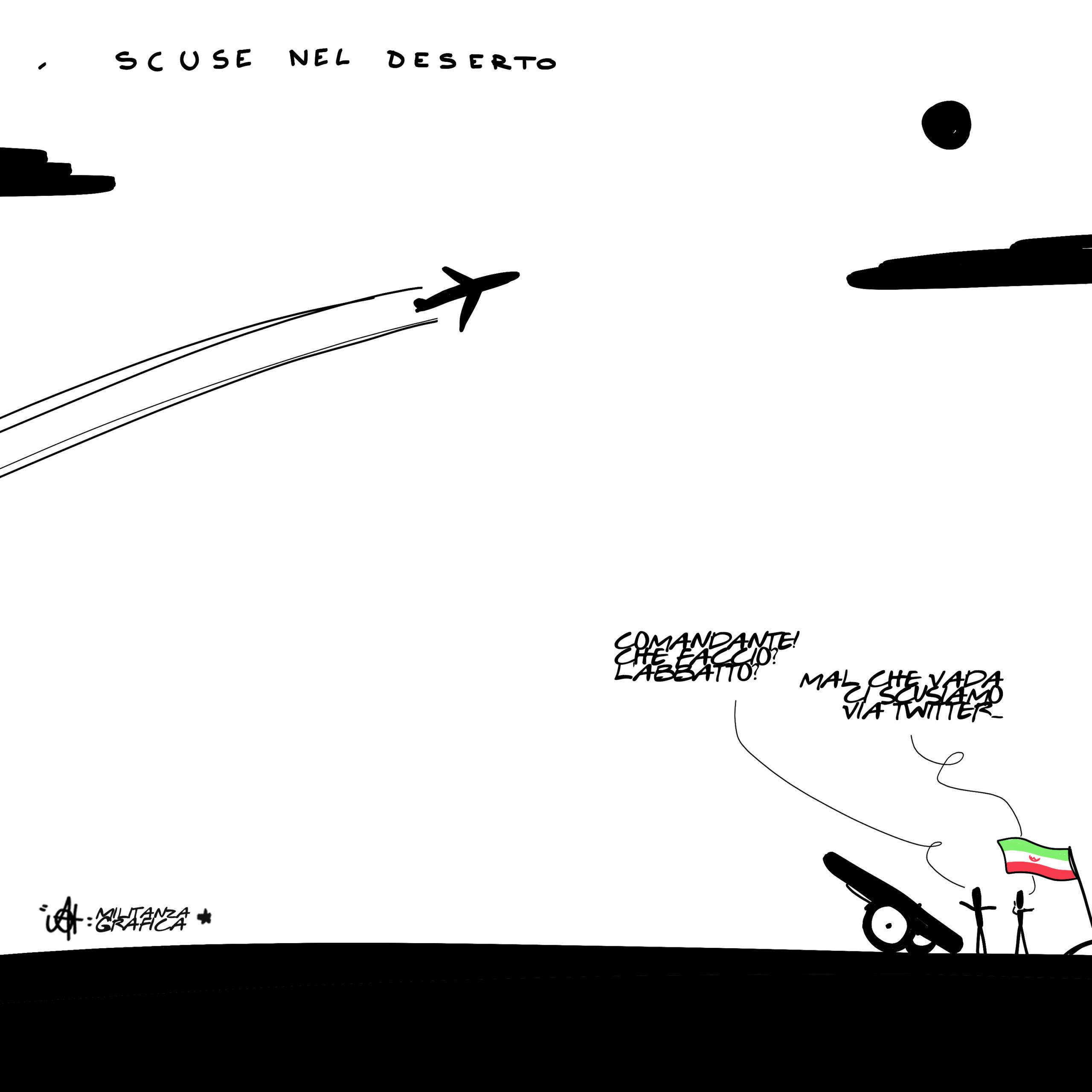 Scuse nel deserto