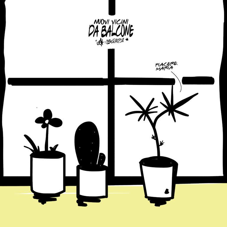 Nuovi vicini da balcone: Marijuana