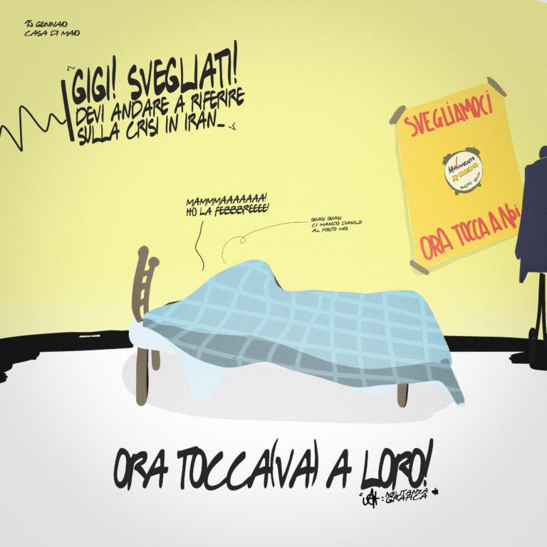 """Luigi Di Maio in """"Ora Tocca(va) a loro"""""""