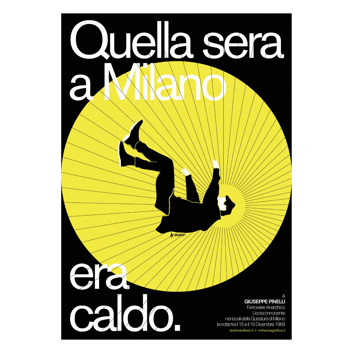 Quella Sera a Milano era caldo