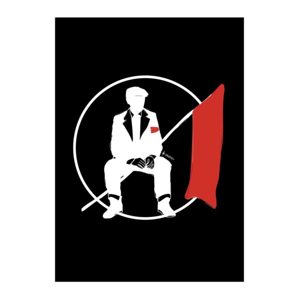 Bandiera Rossa Poster