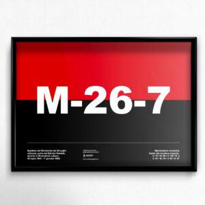 Movimento 26 Luglio Bandiera
