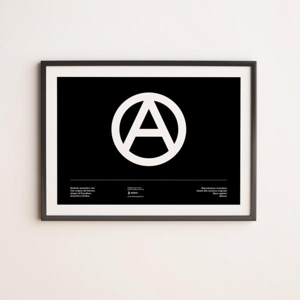 Bandiera Anarchia Poster