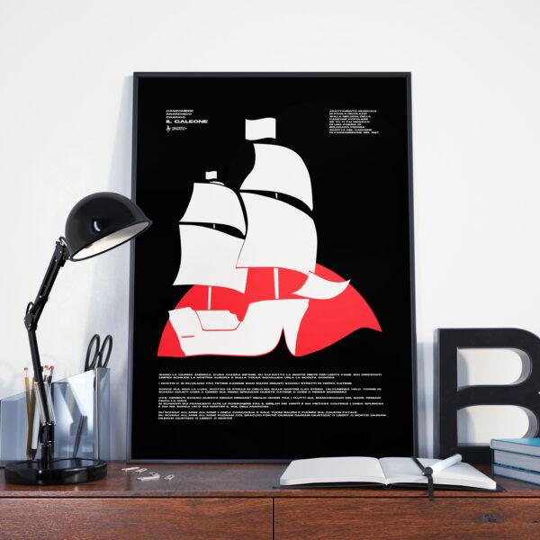 Il Galeone Poster