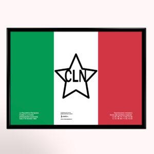 Bandiera CLN poster