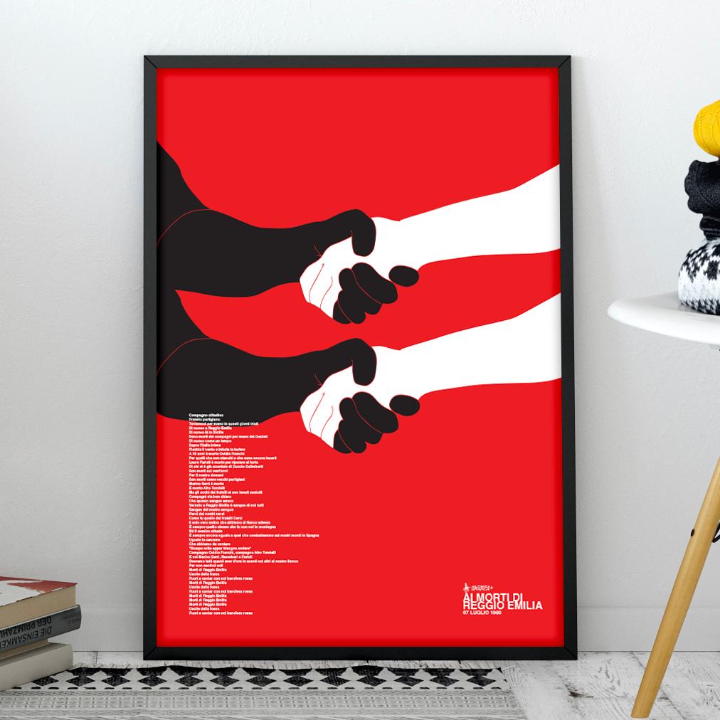 Per i morti di Reggio Emilia Poster