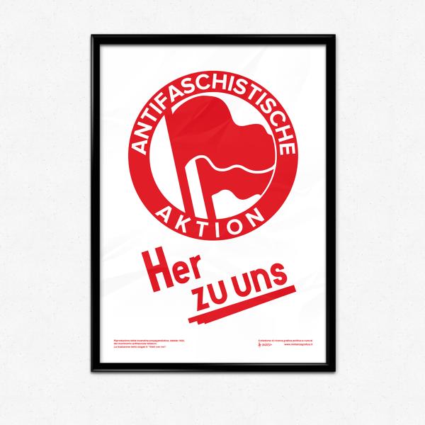 Azione Antifascista Germania Poster